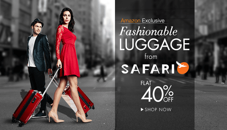 Fashionable Luggage from Safari