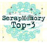 Моя работа в ТОП-3 в ScrapMemory