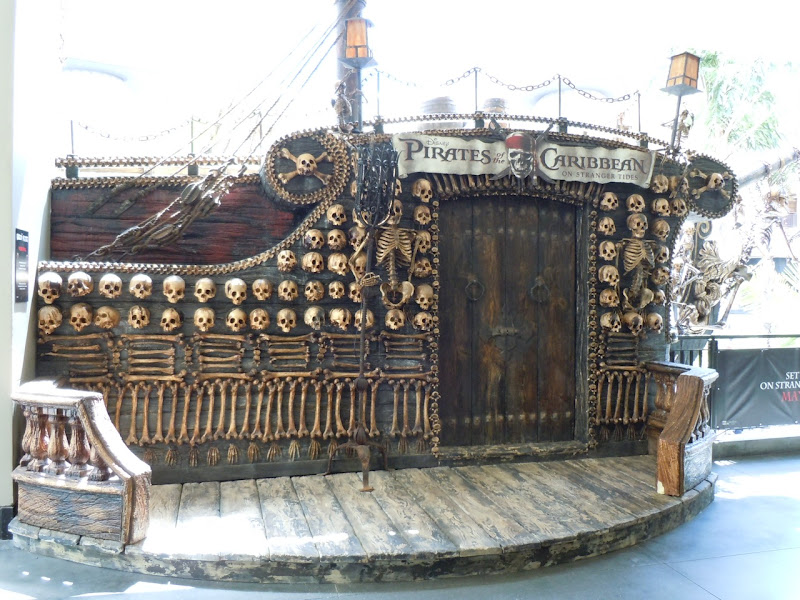 Pirates of the Caribbean mock ship