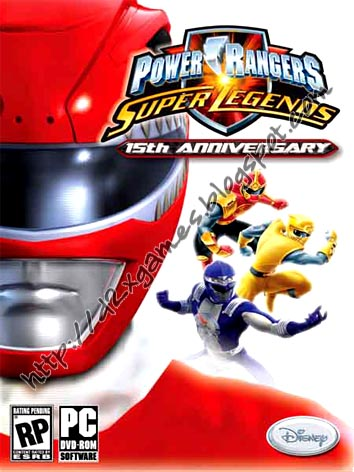 Free Download Games - Power Ranger Super Legends