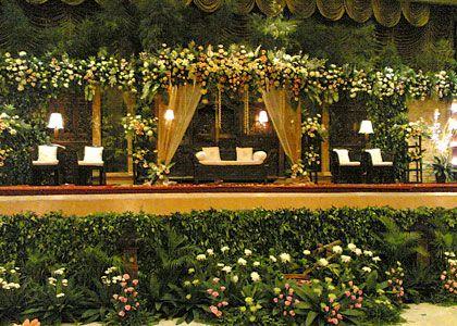 dekorasi resepsi pernikahan perlu yang indah - artikel