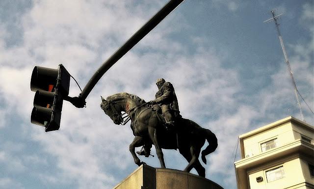 Monumento al general Roca, Diagonal Sur
