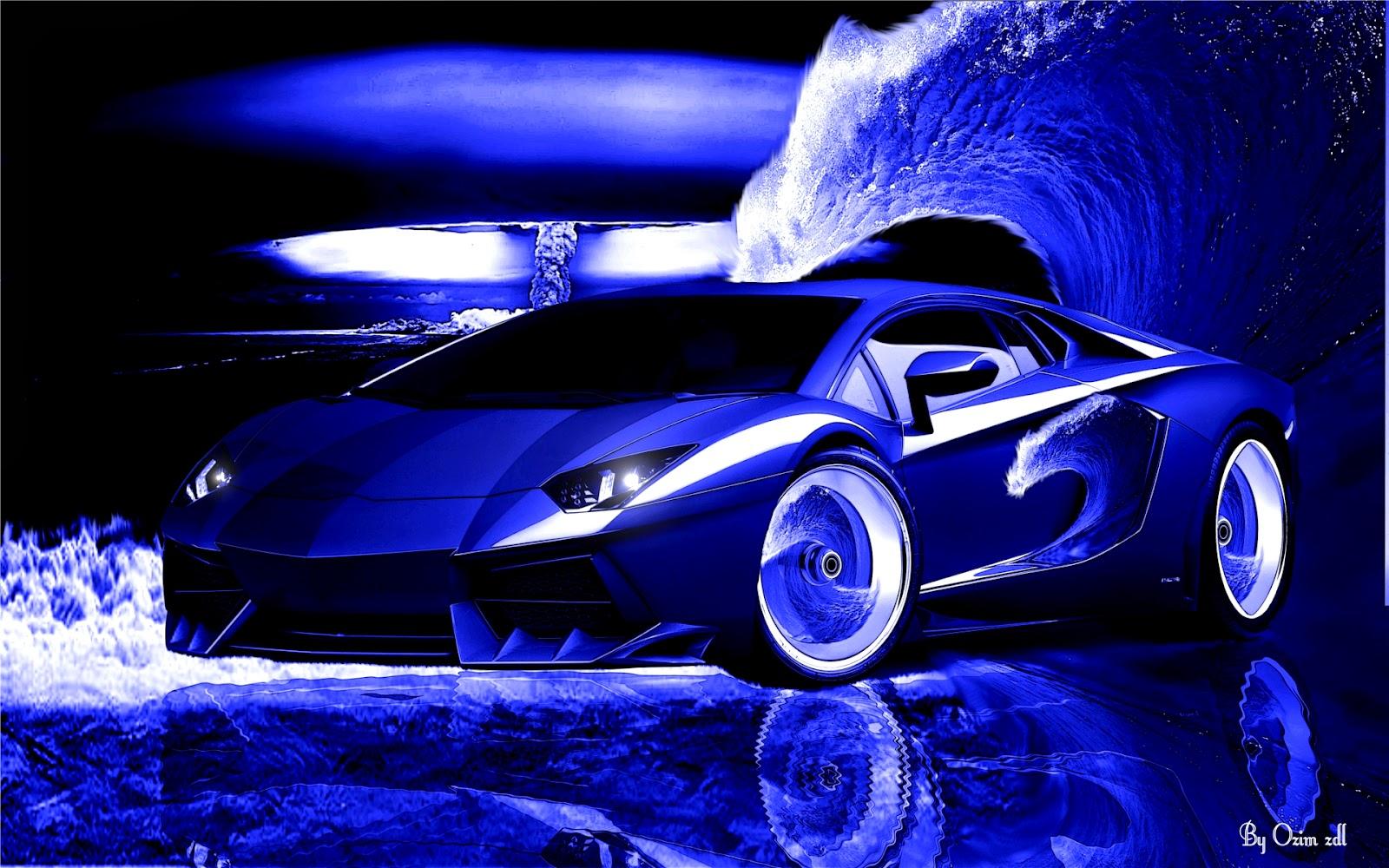 Lamborghini Light Blue