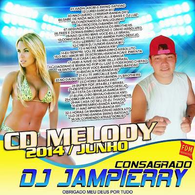 CD MELODY 2014/JUNHO DJ JAMPIERRY 03/06/2014