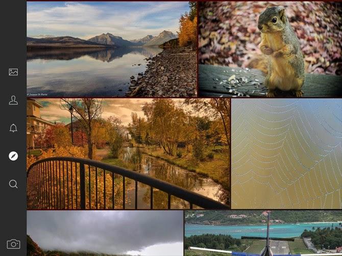 صور لتطبيق فليكر Flickr على آيباد 1