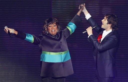 patti labelle on oprah. Patti Labelle and Josh Groban
