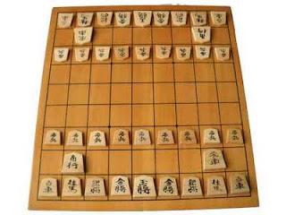 tablero ajedrez japones
