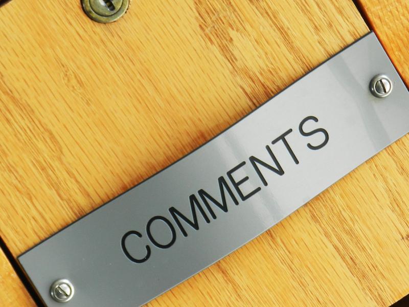 система комметариев для блога