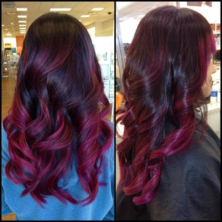 imagenes, fantasia y color: Lindos peinados, cortes y colores para tu