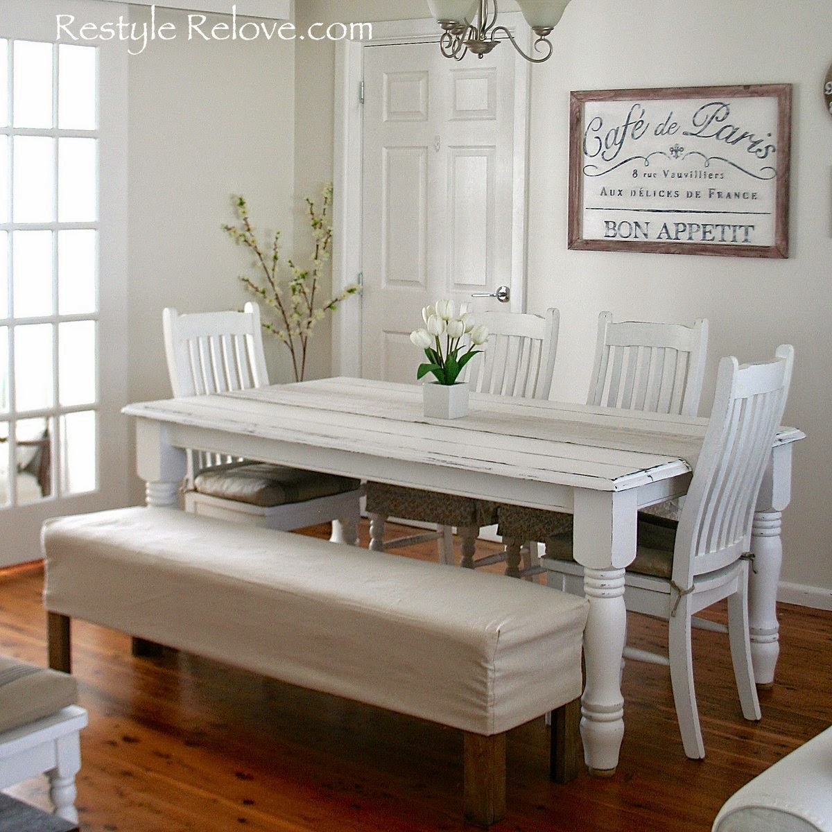 Padded Benches Living Room Restyle Relove Padded Dining Room Bench Seat With Removable