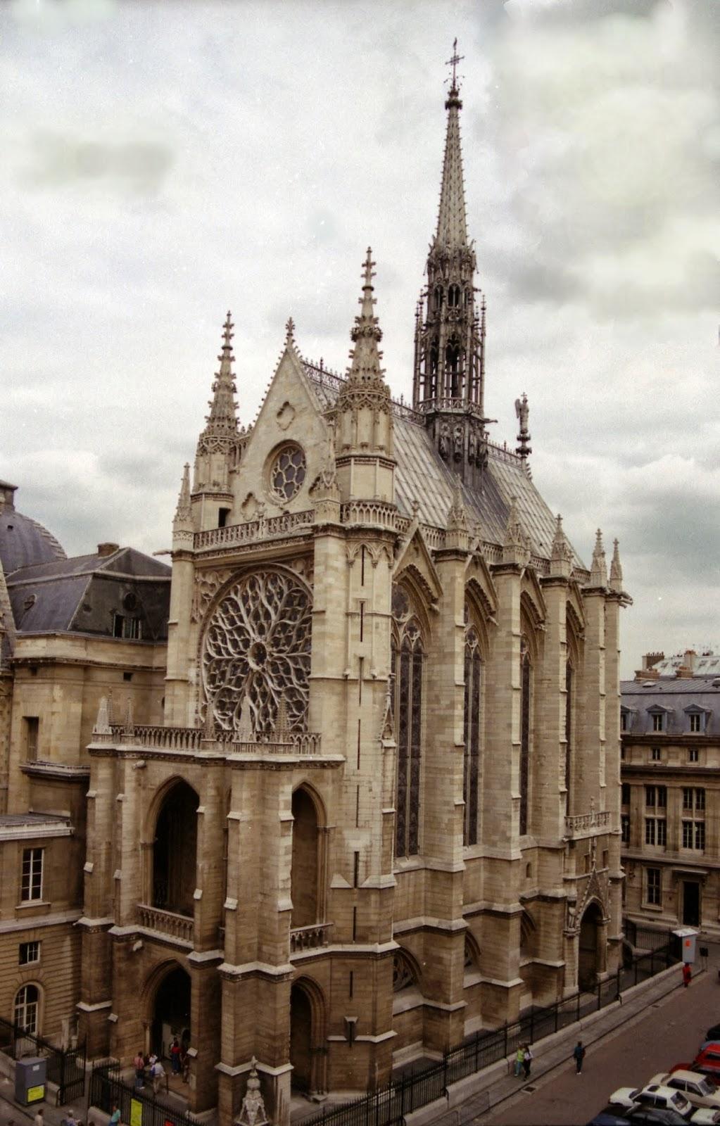 the sacred landscape reflections of a catholic architect sainte chapelle