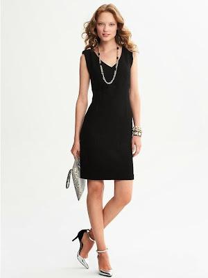 klasik kesim siyah elbise, kısa elbise, 2014 elbise modelleri,