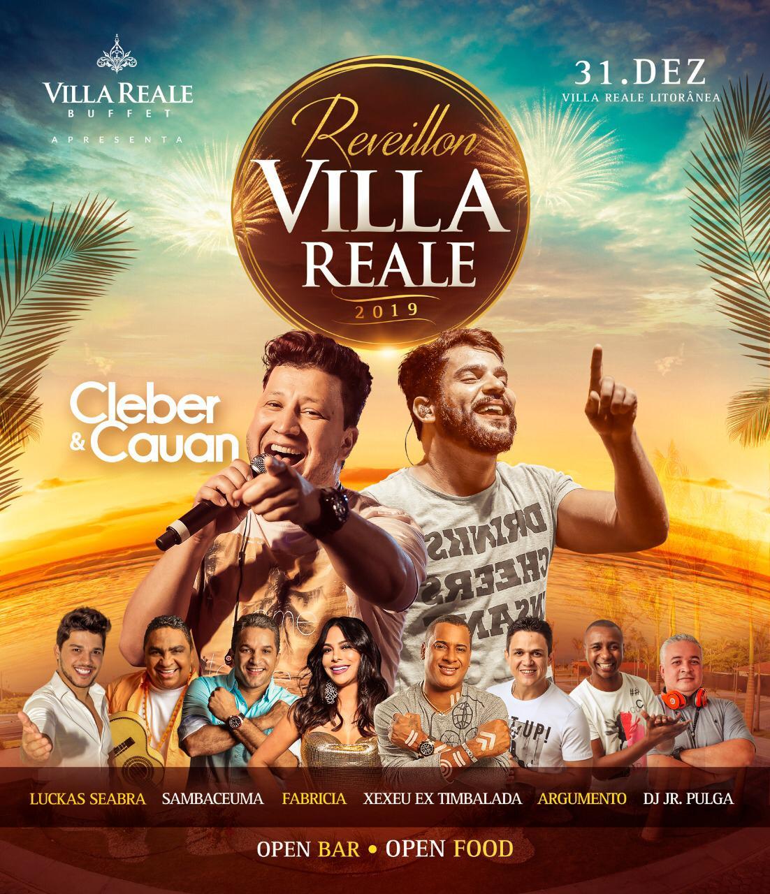 Réveillon 2019 é no Vila Realle