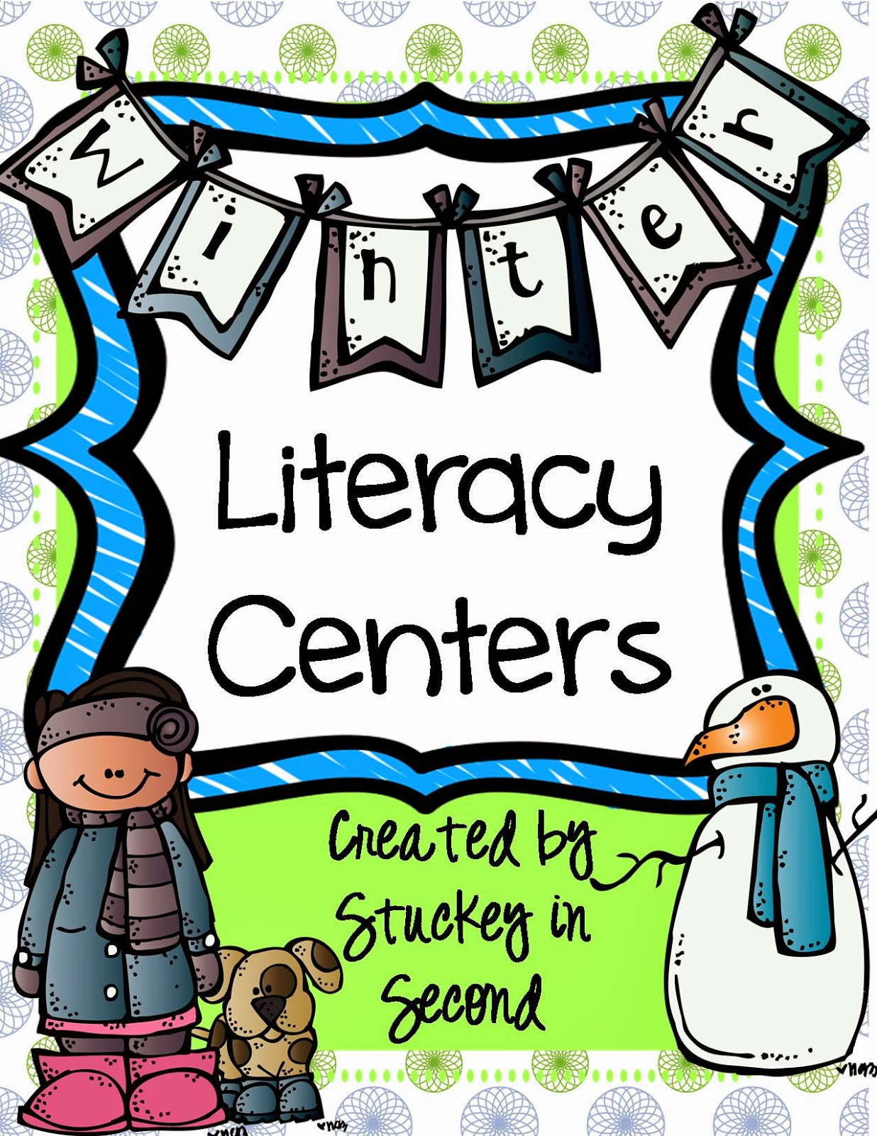 http://www.teacherspayteachers.com/Product/Winter-Literacy-Centers-5-Centers-Included-1032737