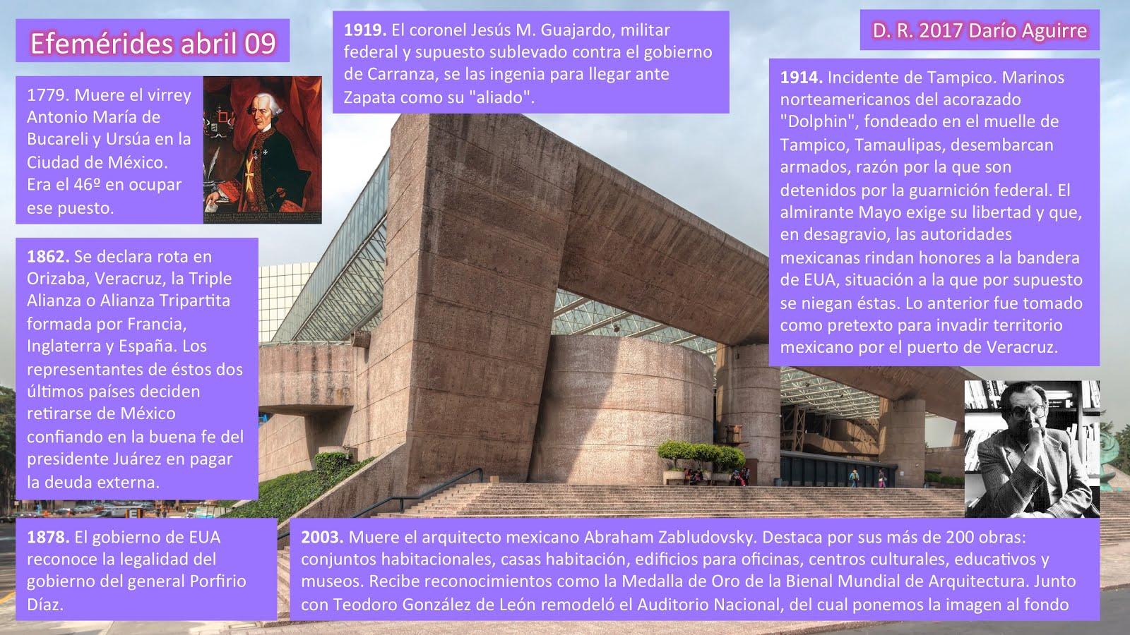 El Maestro Efemerides Mexicanas Abril 09