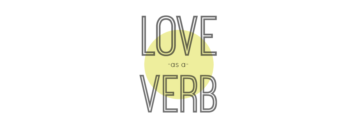 love as a verb