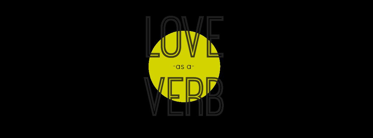 love as a verb