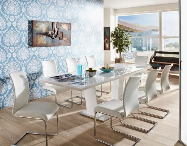 Estupendos comedores modernos y elegantes colores en casa - Comedores diseno moderno ...
