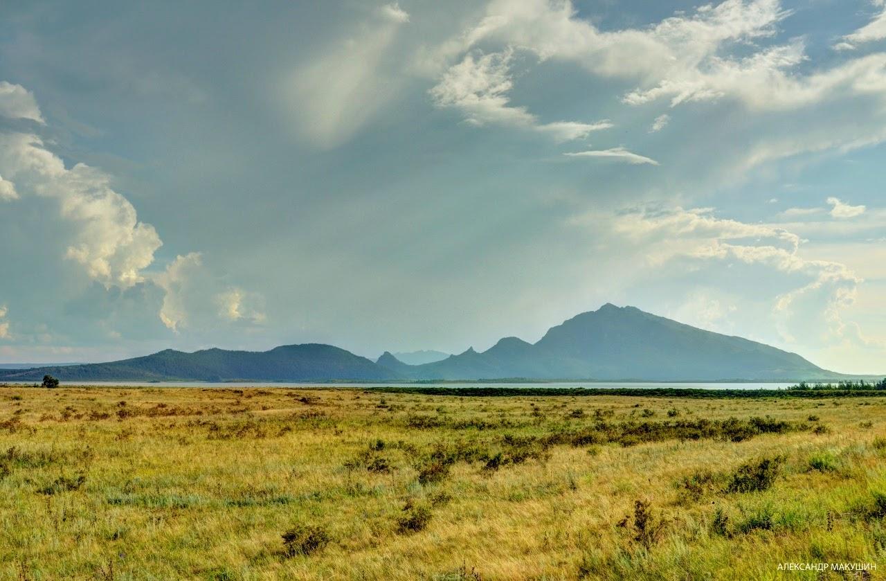 Чебачьи озёра. Казахстан.