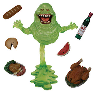 Ghostbuster's Slimmer action figure toy with slime and food