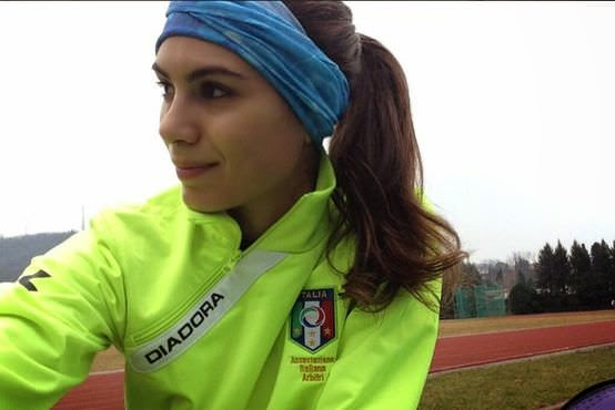 Elena Tambini a árbitra mais sexy de Itália