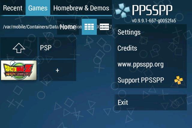 Giả lập PSP Game trên iPhone không Jailbreak 12