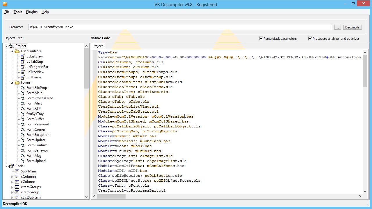 Vb decompiler pro 92 with crack torrent