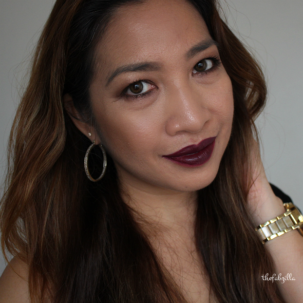 how to wear dark lips, Fall makeup, Tom Ford Black Dahlia, Tom Ford Moodlight, Dolce and Gabbana Moodlight, Lancome Drama Liqui-Pencil, Tom Ford Cream and Powder Eye Color