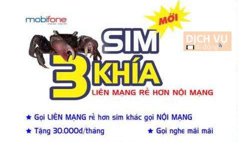 SIM Ba Khía Mobifone - Bảng cước gọi sim Ba Khía