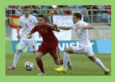 La sub-21 de fútbol, fuera del Europeo