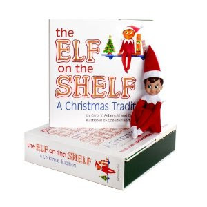 Image: The Elf on the Shelf: A Christmas Tradition with Blue Eyed North Pole