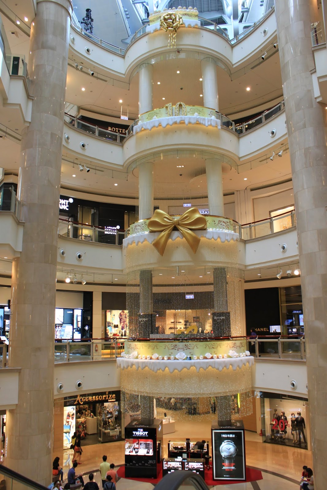 Taipei 101 Shopping Mall in Taipei, Taiwan