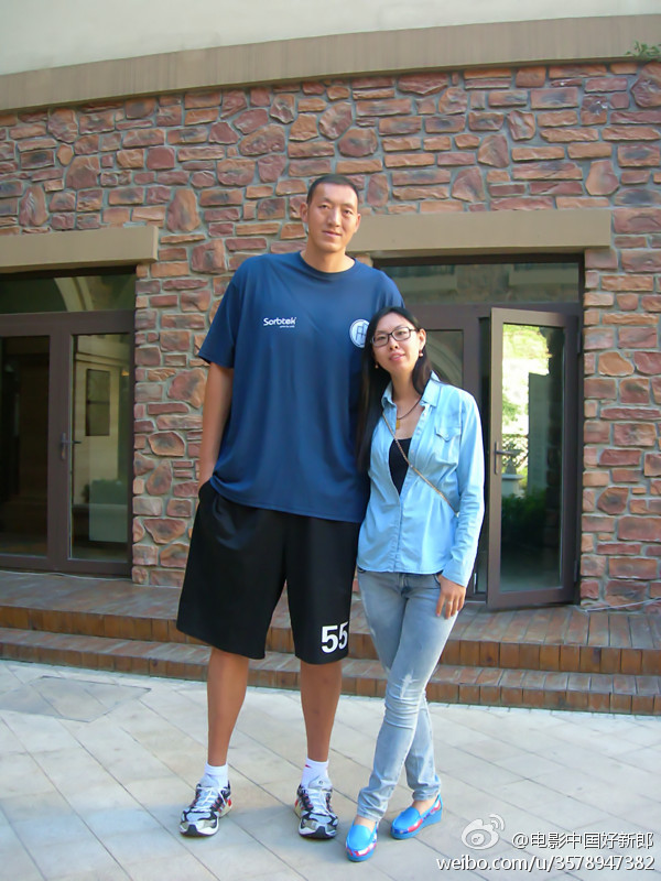 Amazing Information: Sun Mingming Tallest Basketball ...