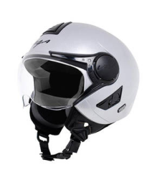 Buy Vega Verve Silver Ladies Helmet (Size-L) at Flat 10 % Off  Extra 50 % Cashback at Rs.583 : Buy To Earn