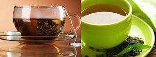 Πράσινο και μαύρο τσάι