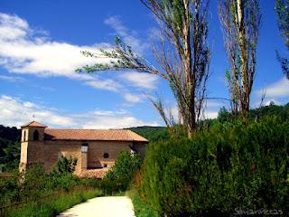 Iglesia parroquial de San esteban de Corres/Korres- Parque natural de Izki-