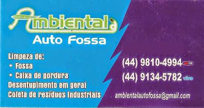 Ambiental Auto Fossa em Paiçandu -3244 6150