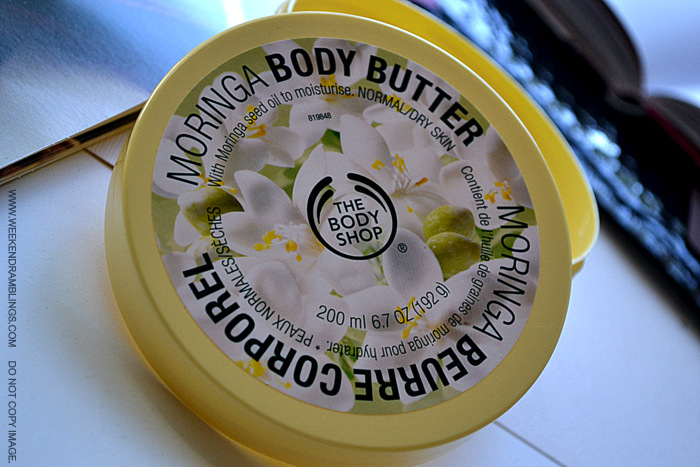 TBS Bodyshop Moringa Body Butter Dry Skincare Winters Indian Beauty Makeup Blog Reviews Ingredients