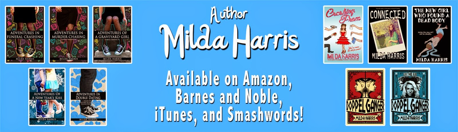 Milda Harris   Author of Young Adult Books