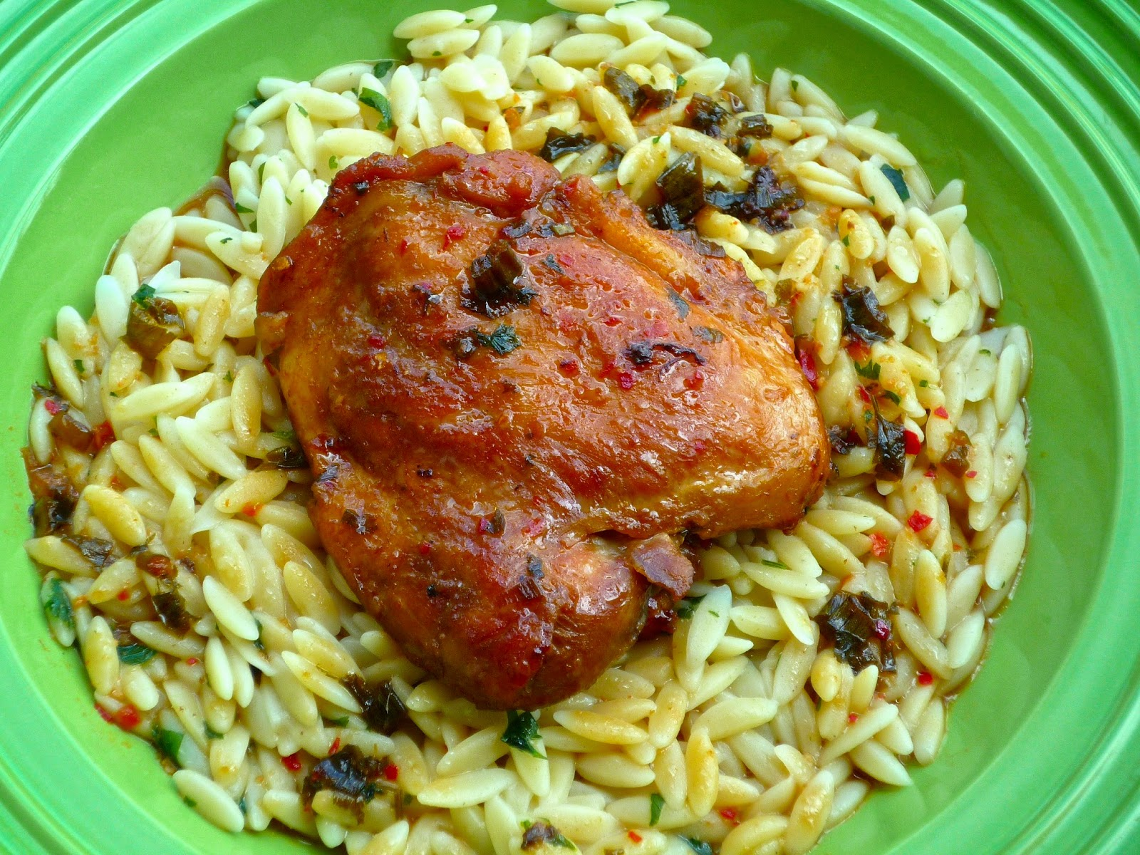 ... : February Secret Recipe Club...Featuring Slow Cooker Peking Chicken