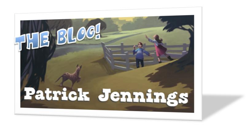 Patrick Jennings—The Blog!