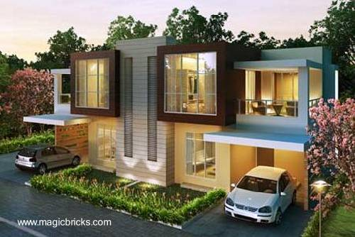 Arquitectura de casas casas de clase mundial en la india - Modern family house with stylish and elegant design ...
