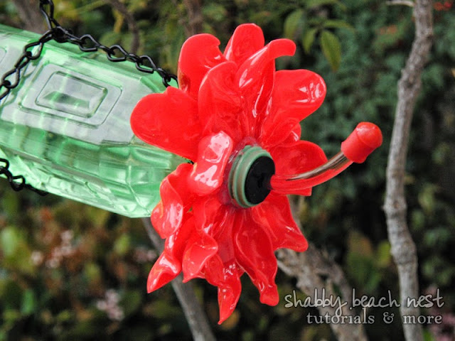 DIY Hummingbird Feeder