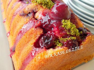 kolay vişneli kek