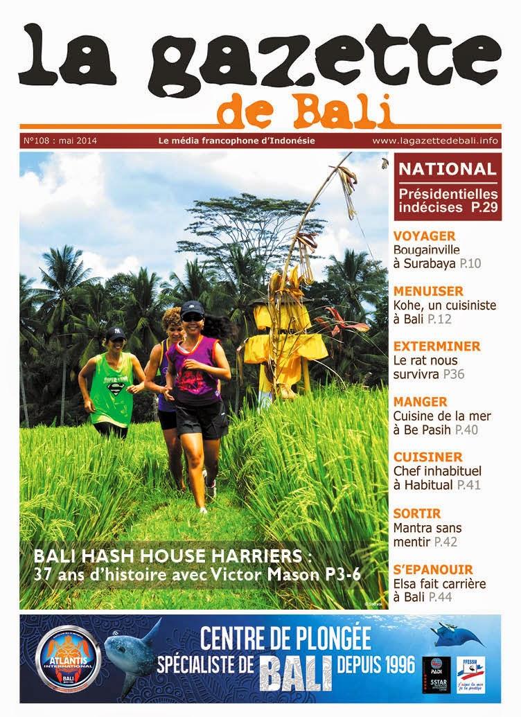 La Gazette de Bali mai 2014
