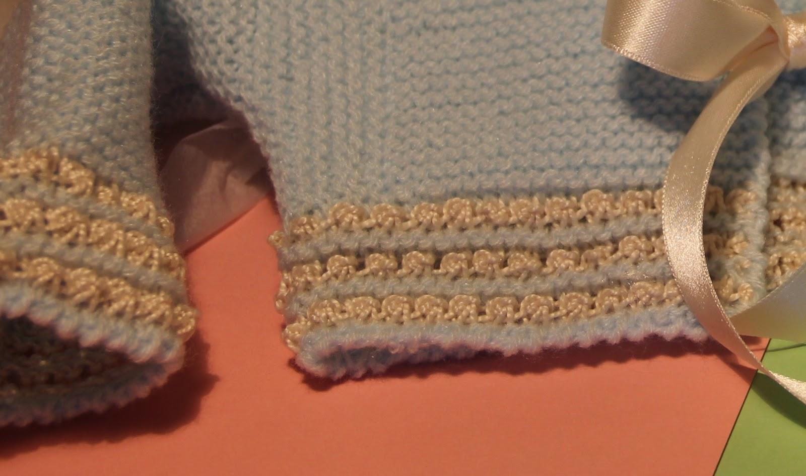 Emilia y sus labores de punto punto de u a - Labores de punto de lana ...