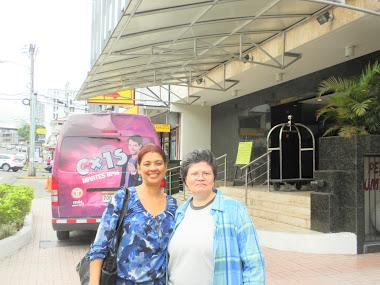 REUNION CON BLANCA EN PANAMA