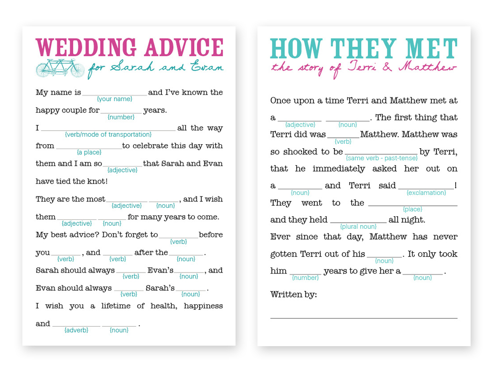 Template for Any Best Man Speech from Dan Abramson and Funny Or Die