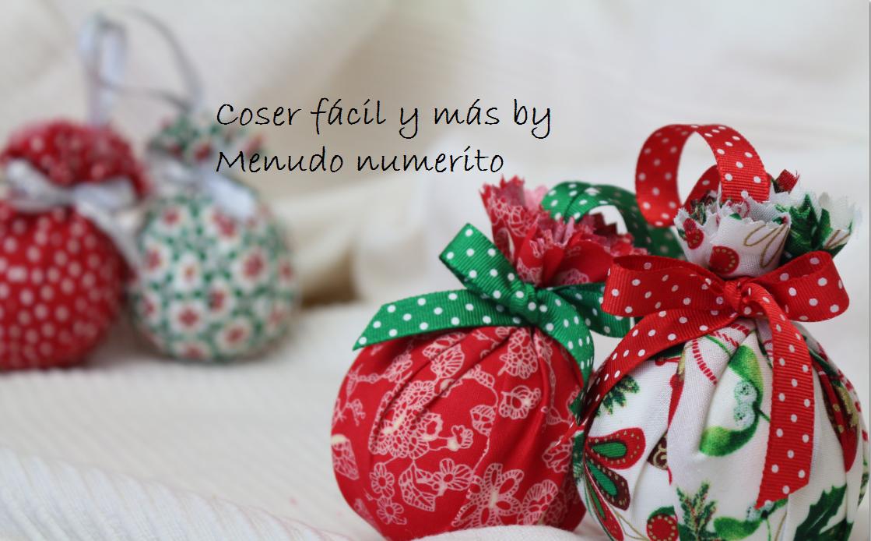 El blog de coser f cil y m s by menudo numerito - Adornos navidenos para arbol de navidad ...