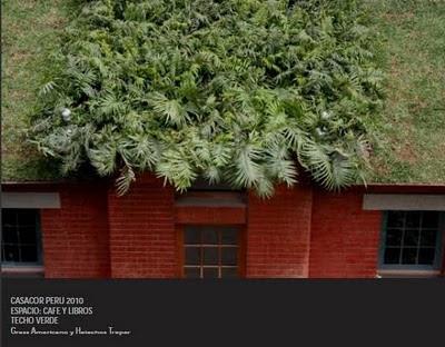 tejado verde